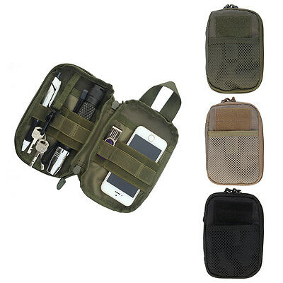 Outdoor Waterproof Tactical Military EDC Pouch Waist Pack Bag for Samsung iPhone