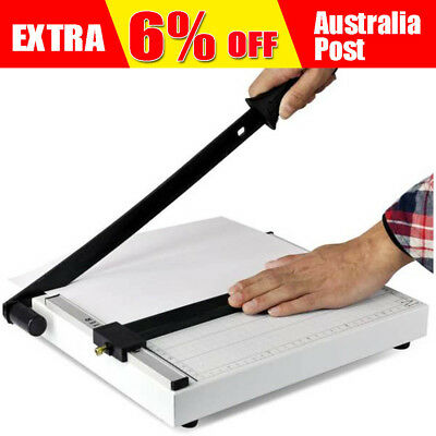 Portable A4 To B7 Paper Photo Cutter Guillotine Trimmer Knife Metal Base B4 A4