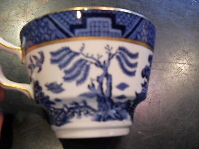 Real Old Willow Booths Teacup   A8025 Made in England