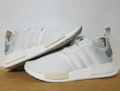 Adidas NMD R1 Runner Nomad White / Tectile Green BY3033 Wmns Sz 10 Men´s 9 Boost