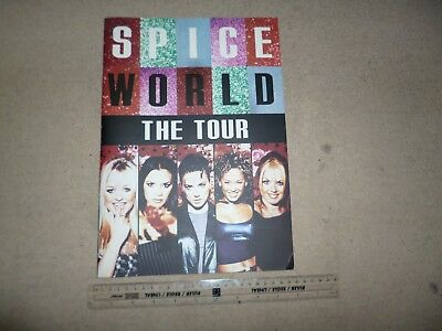 Spice Girls – 'Spice World The Tour' official programme 1997 Geri, Victoria