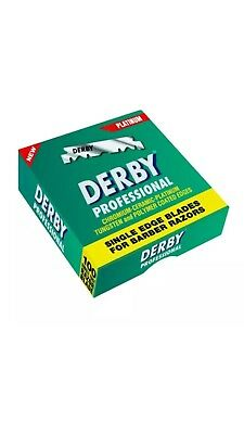 Derby Professional Single Edge Razor Blades Pack Of 100 / SAME DAY POST