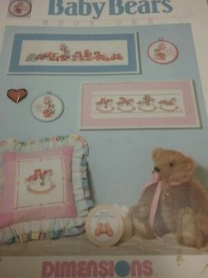 BABY BEARS  cross stitch booklet