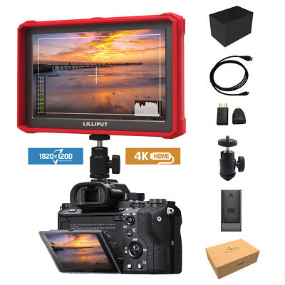 RED Lilliput A7s-2 7 inch 1920x1200 DSLR Mirrorless Camera Field Monitor 4K HDMI