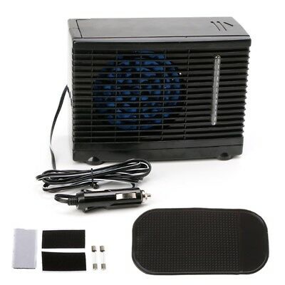 Adjustable 12V Car Air Conditioner Cooler Cooling Fan Water Ice Evaporative