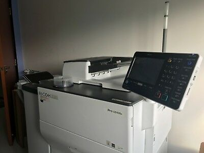 Ricoh Production Printer C5100S + Other Print Equipments