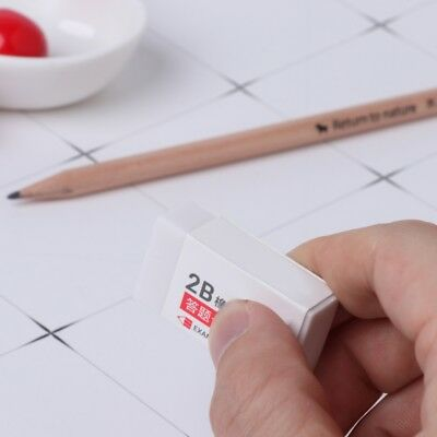 10x Soft Rubber 2B Pencil Eraser Advanced Sketch Drawing Artist Fr School Office