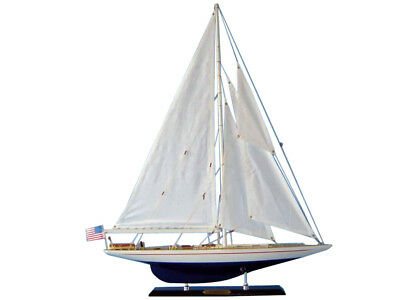 "Replica Handcrafted Sailboat 27""Assembled High Museum Quality Amazing Detail"