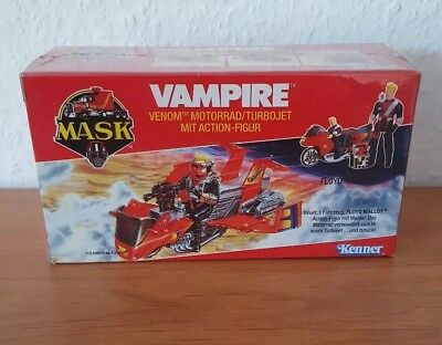 M.A.S.K. Vampire German / Euro Box Misb Shrink Wrapped Mask Kenner