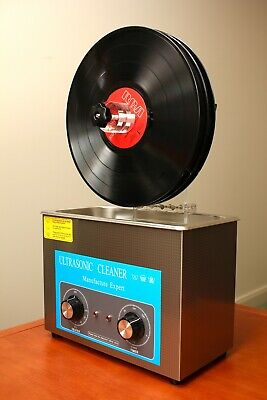 Ultrasonic Record Cleaner Kit / Vinyl Record Cleaning