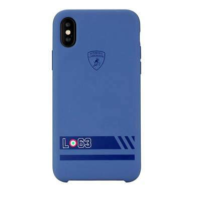 Lamborghini Huracan-D13 (Blueberry) Rubber Back Cover Case for iPhone X