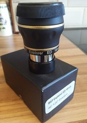 "1.25"" 19mm BST Explorer Dual ED eyepiece Branded ""Explorer"""
