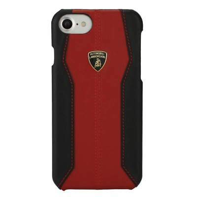 "Lamborghini Huracan-D1 Leather Red Back Cover Case for iPhone 7 / 8 (4.7"")"