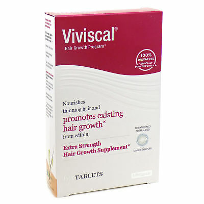 Viviscal Hair Growth Program Extra Strength 60 Tablets Exp  12/2019 or later