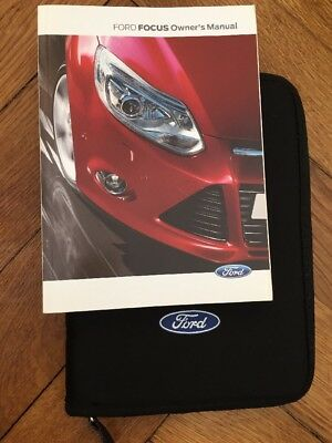 ford focus mk3 2012 2015 owners manual handbook with wallet 6 99 rh picclick co uk 2012 ford focus factory service manual 2012 ford focus owner manual