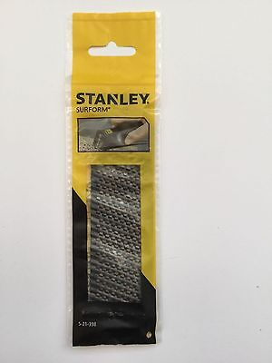 Stanley 140mm surform rasp blade ORIGINAL 5-21-398 fine cut wood plasterboard