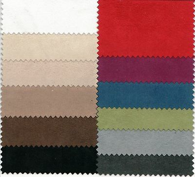 Faux Suede Suedette Fabric Endure Upholstery Polyester Fabric - 150 Cms Wide