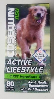 Cosequin ASU Active Lifestyle Joint & Pad Health For Dogs (60 Ct) - Ships Free!