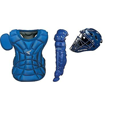 Easton Natural Series Catcher's Box Set- Youth Royal