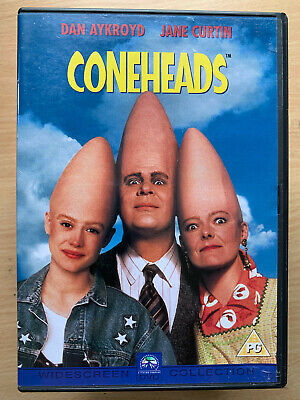 Dan Aykroyd CONEHEADS ~ 1993 Saturday Night Live Cult Comedy Film | Rare UK DVD