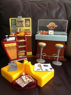 Vintage My Scene daily dish Cafe Complete  with box Box