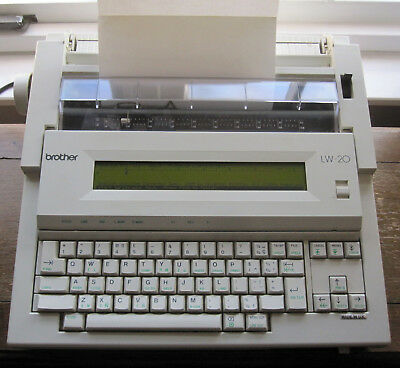 Brother Lw-20 Word Processor / Electric Typewriter