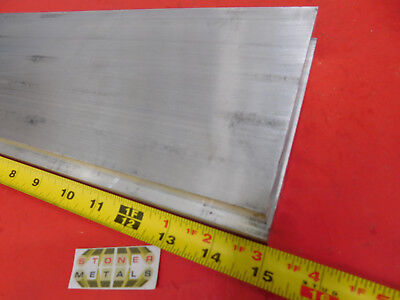 """2 Pieces 5/8"""" X 5"""" ALUMINUM 6061 T6511 Solid FLAT BAR 15"""" long Plate Mill Stock"""