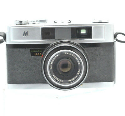 MINOLTA A5 1000 Rangefinder Camera With Minolta Rokkor-TD 45mm f/2.8 Lens