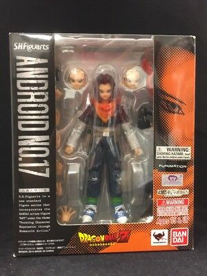 S H Figuarts Android  17 - Dragon Ball Z Bandai Action Figure NEW