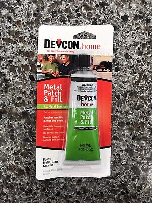 New DEVCON 50345 All Purpose Metal Patch & Fill Compound Waterproof Adhesive (1)