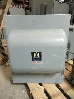 Square D 92454, 200 Amp, 240 Volt, 4 Pole Double Throw Switch- Ats295