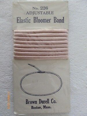Vintage 1920s FLAPPER Era ELASTIC BLOOMER BAND Replacement
