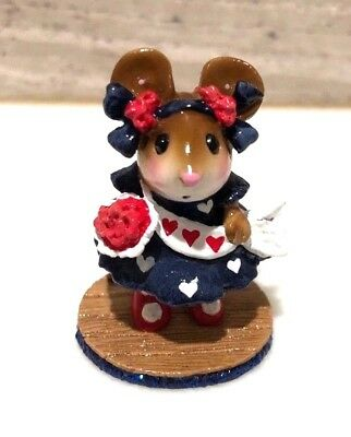 Wee Forest Folk Miss Liberty Mouse Exclusive For Mouse Expo Helpers 2008 R/W/B