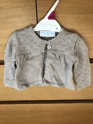 Little White Company Cardigan Size 6-9 Months
