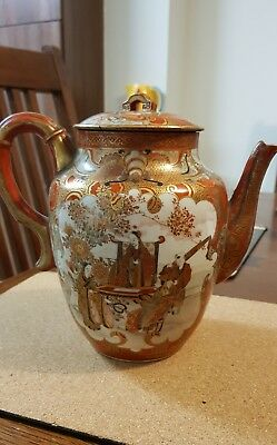 Very Good antique Japanese teapot