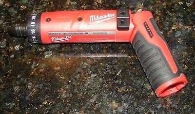"Milwaukee 4V M4 Li-Ion 1/4"" Hex Screwdriver (Bare Tool) 2101-22"
