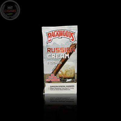 Russian Creme Backwoods  (Pack of 5) SUPER FRESH
