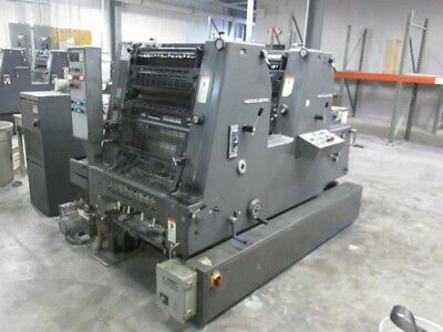 Heidelberg Gtoz 52, Year: 1992,  Two Color Press, Alcolor Dampening