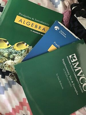 PREALGEBRA AND INTRODUCTORY Algebra Software and Textbook Bundle