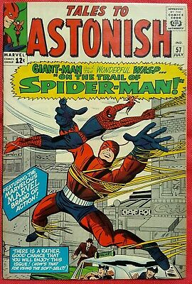 Tales to Astonish 57 Marvel Silver Age 1964 Spider-Man appearance