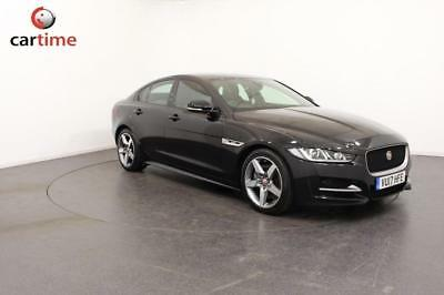 2017 17 Jaguar Xe 2.0 D R-Sport 4D 178 Bhp Sat Nav Bluetooth Heated Leather Seat