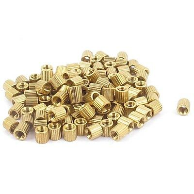 Brass Motherboard Standoff Stand-off Spacer 116pcs M2 Female Thread E6V5