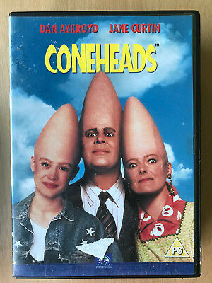 Dan Aykroyd CONEHEADS ~ 1993 Saturday Night Live Cult Comedy Film Rare UK DVD