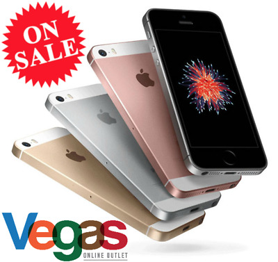 Apple iPhone SE 16GB/32GB/64GB -Factory Unlocked/AT&T/Sprint/T-Mobile Smartphone