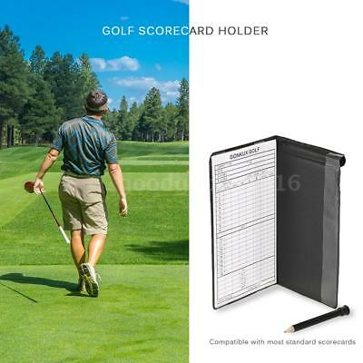 Golf Score Tracking Card Golf Stat Tracker Notebook Score Tracking Card M1F3