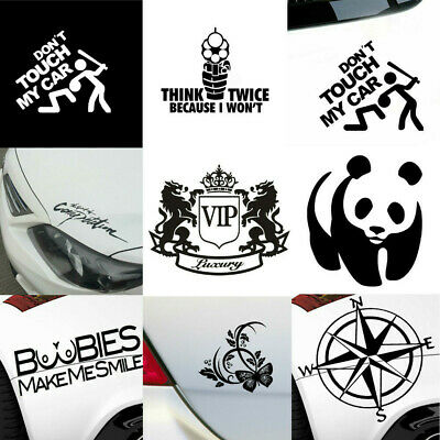 Funny Auto Car Truck Boat Exterior Body Windshield Reflective Sticker Decal