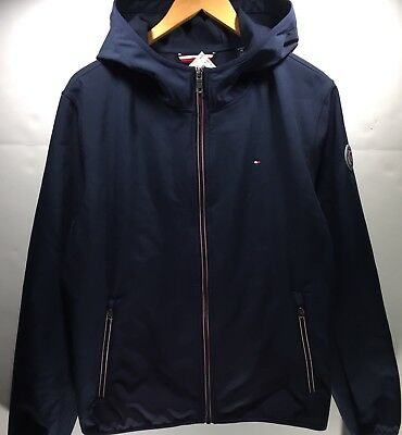 NWT Tommy Hilfiger Men's Hooded Performance Soft Shell Jacket-L