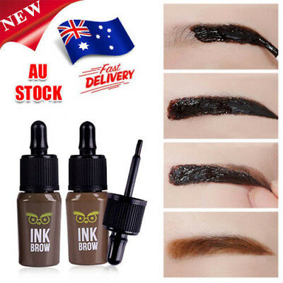 Makeup Peel-off Eyebrow Cream Tattoo Eyebrow Gel Tint Long Lasting Waterproof O5