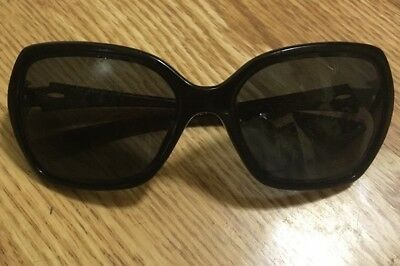 bfe568e63c5 OAKLEY WOMENS SUNGLASSES OO 9167-16 59mm Black For Parts Shows Wear ...