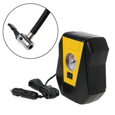 Car 12V LED Digital  Electric Tire Inflator Auto Portable Air Compressor Pump